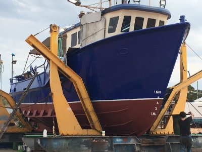 Brown Brothers Trawler Long Lining with Gill Nets