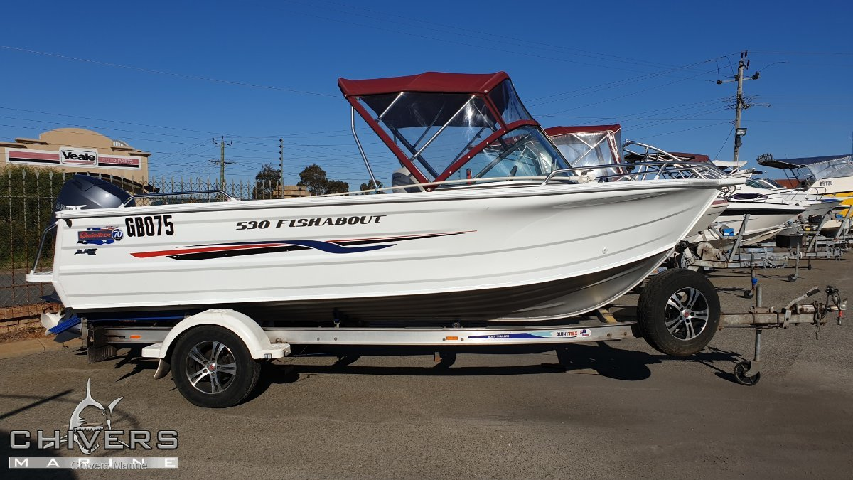 Quintrex 530 Fishabout - Yamaha F80 Four Stroke Package Great Condition
