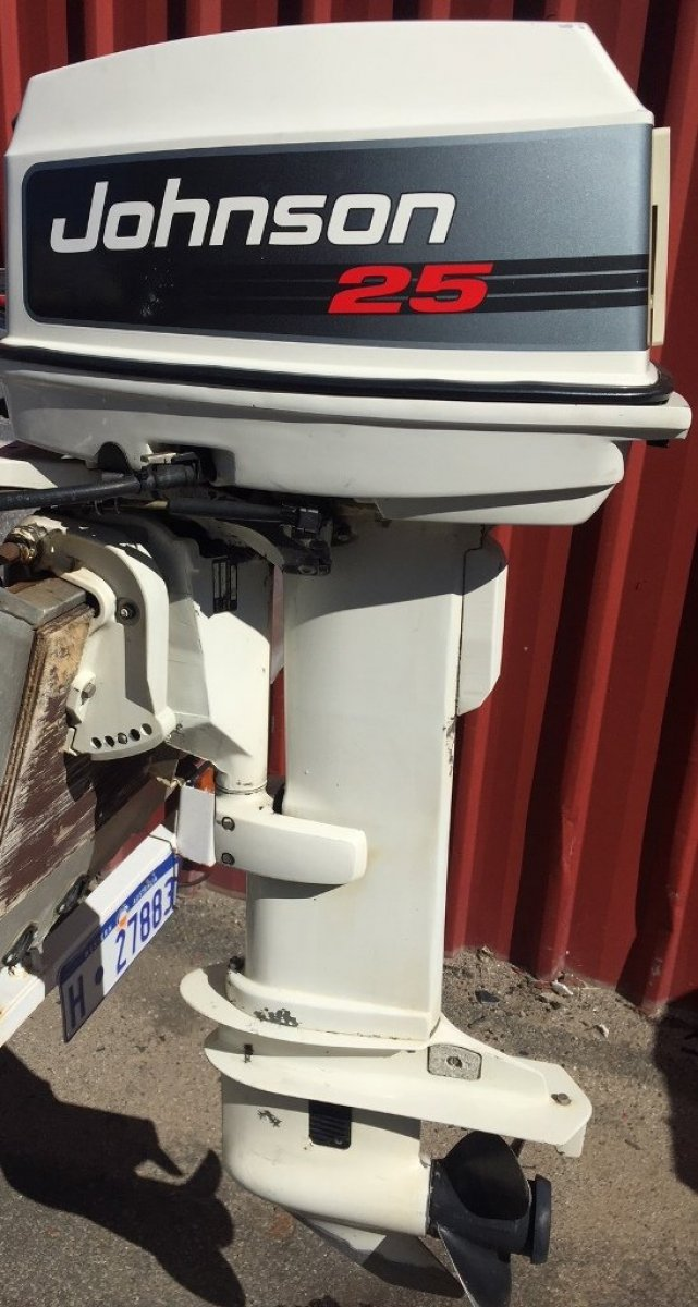 25hp Johnson Outboard - 20