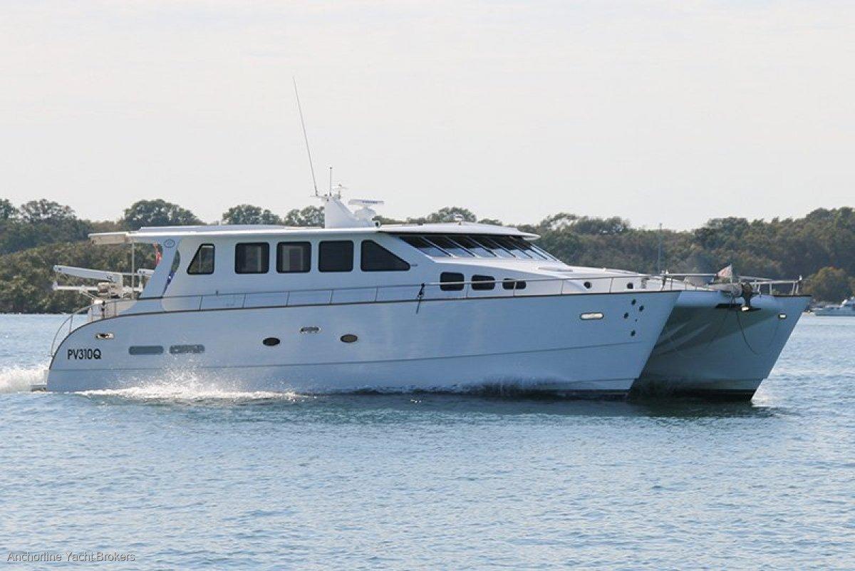 Brady 15m Power Catamaran