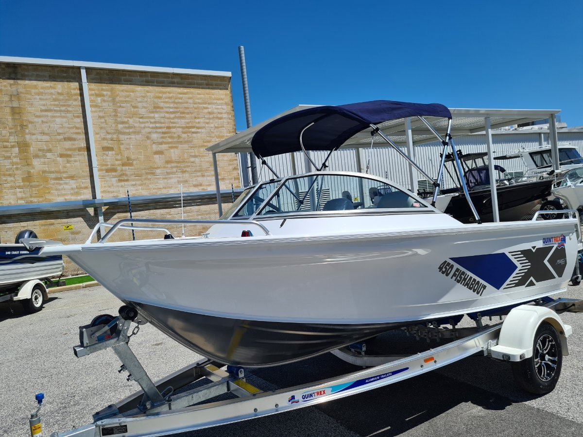 New Quintrex 450 Fishabout Pro