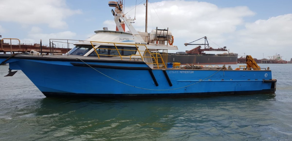 Fine Entry Marine 60 Foot Utility Vessel