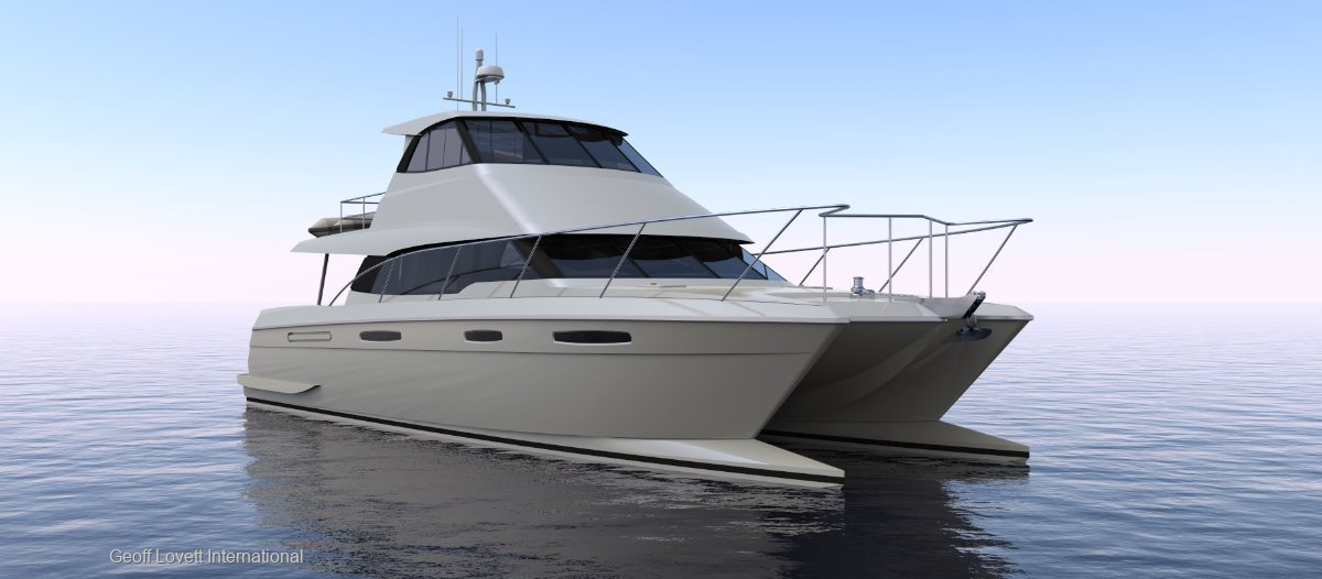 MEC Yachts 17m Luxury Power Catamaran Catamaran under construction