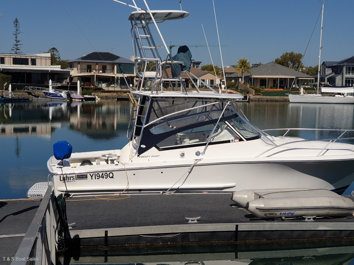 Luhrs 28 Open Tower DIESEL SPORTS FISHER