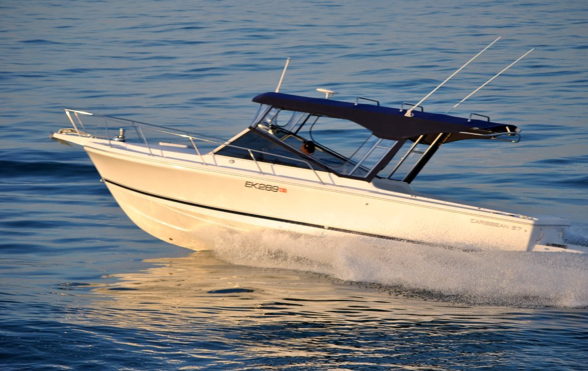 Caribbean 27 Runabout:C27 the complete rig!