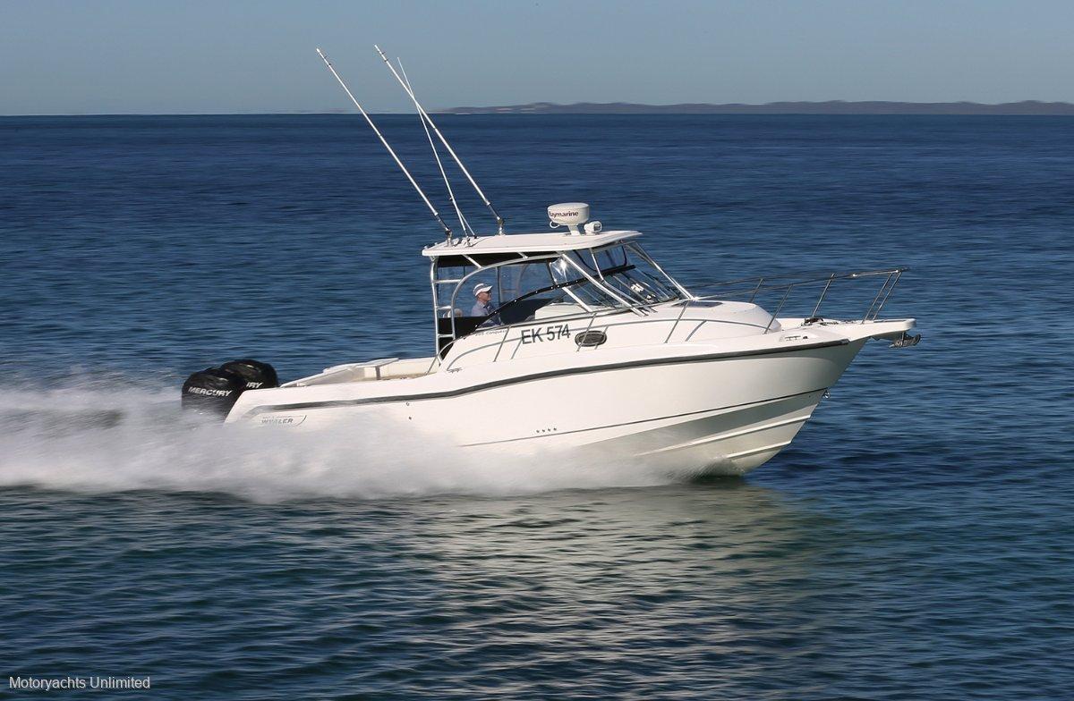 Boston Whaler 285 Conquest Impeccable condition, never antifouled:Boston Whaler 285 Conquest