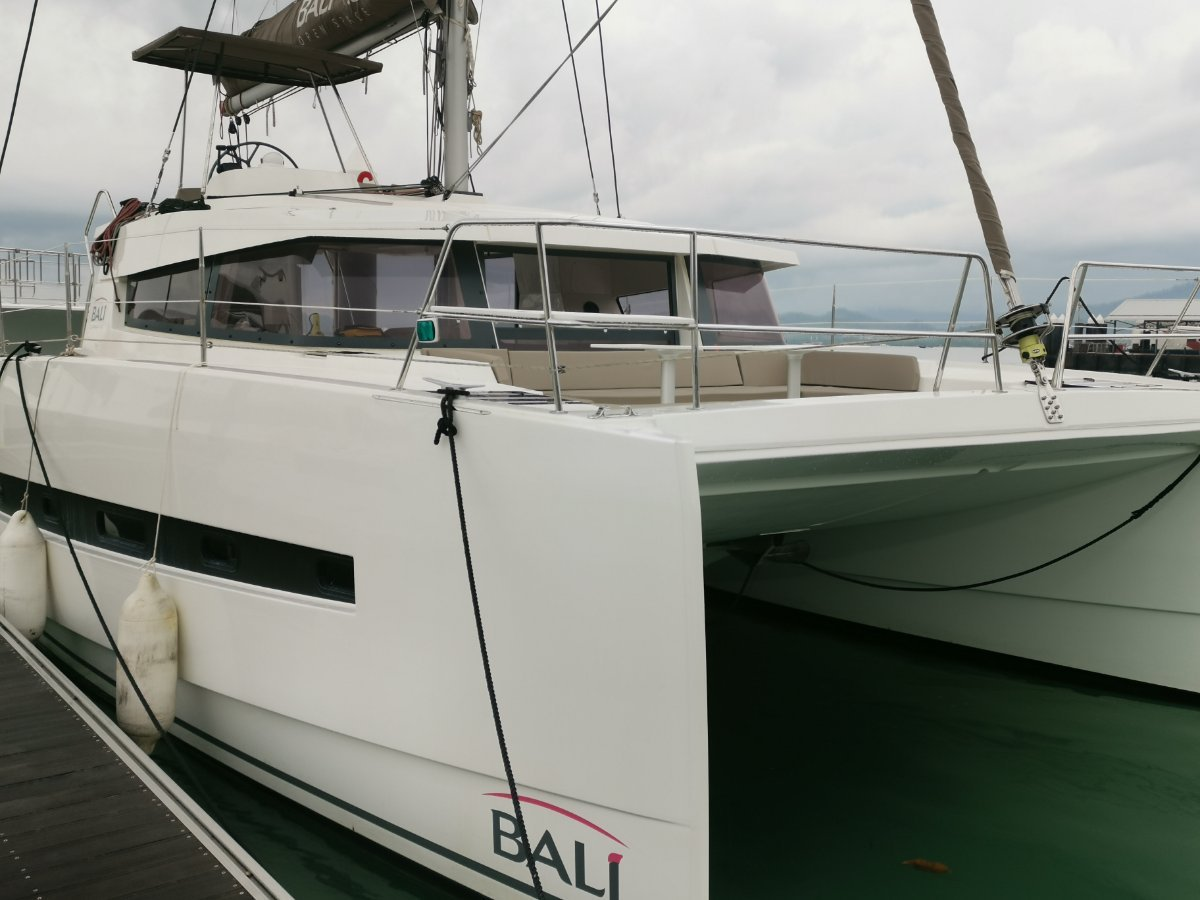 Bali Catamarans 4.0 - 4 Cabin in Charter, now available for sale