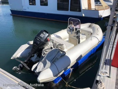 Grand 3.8m Inflatable, 4 stroke, floating docking system