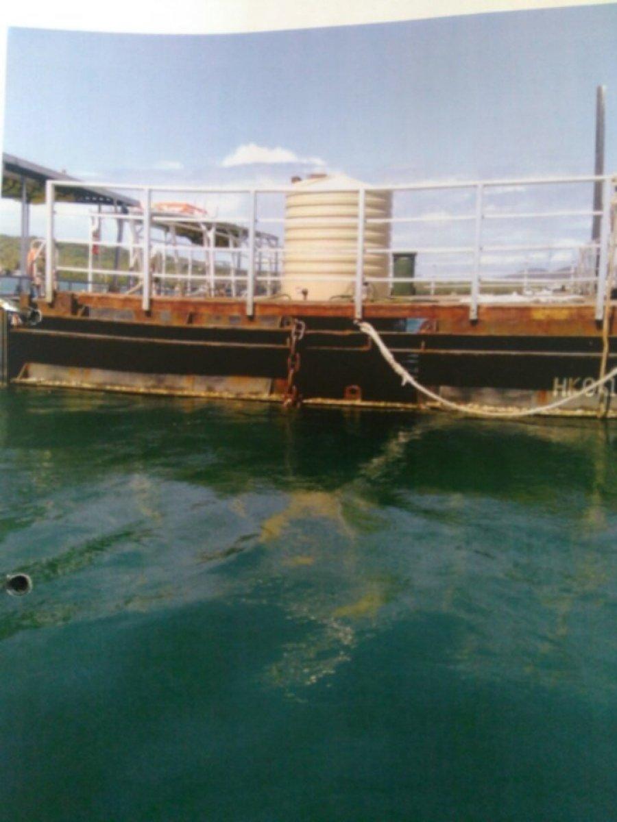 12m x 6m steel dumb barge/ pontoon / deck barge