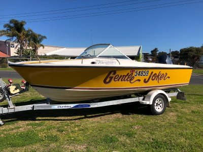 Seeker Runabout with a 2008 Yamaha 4st