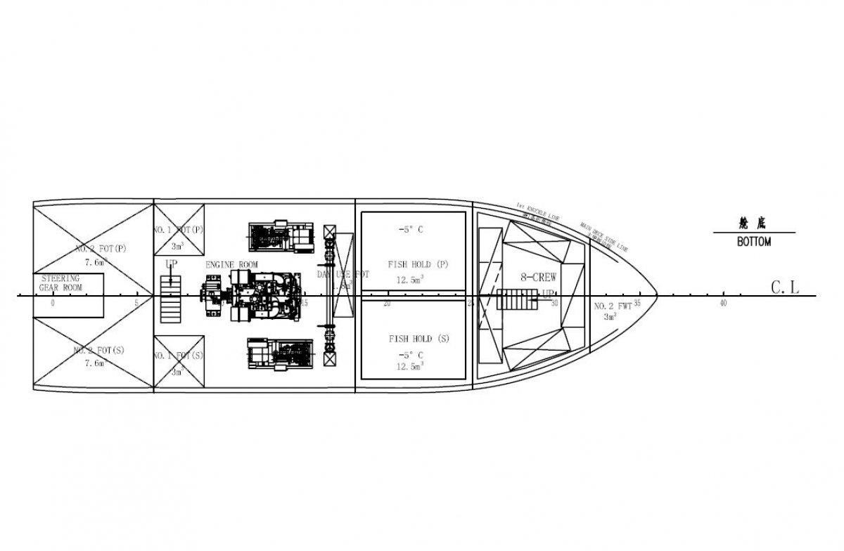 CustomFISH TRAWLER /LONG LINER 20m