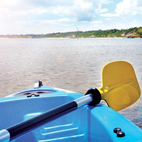 KAYAK PADDLES - ONE OR TWO PIECE - ASSYMETRIC PADDLES