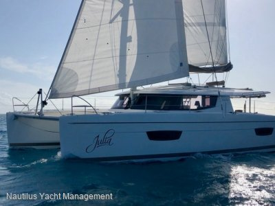 Fountaine Pajot Helia 44 Evolution Equipped for cruising. One owner. Never chartered.