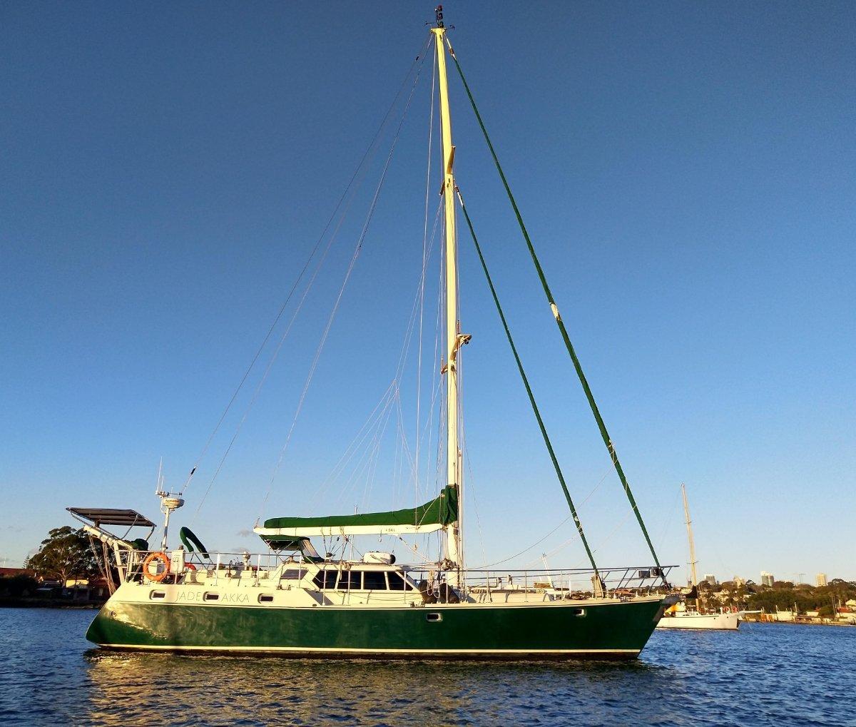 Bruce Roberts 53 by Christensen Yachts:Home base in Drummoyne