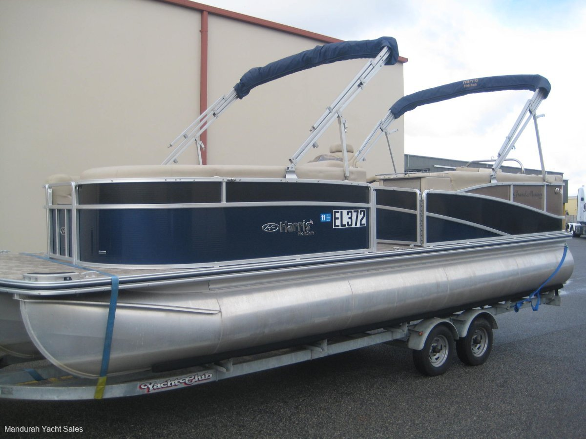 Harris Flotebote Grand Mariner 240 * As new 78.8 hrs launched 4 times, Dont miss out*