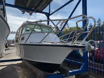 Bertram 20 Cabin Cruiser $30k with in rego trailer