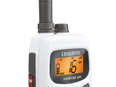 UNIDEN MHS155UV DUAL BAND HANDHELD RADIO - ONLY $ 229.00