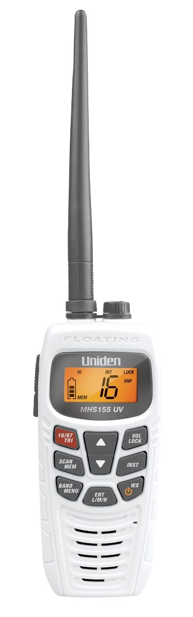 UNIDEN MHS155UV DUAL BAND HANDHELD RADIO - ONLY $ 229.00