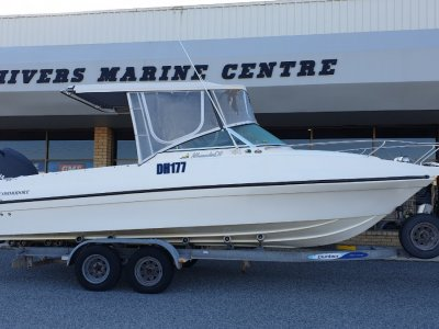 Commodore All Rounder 670 - Yamaha F225 Four Stroke Cabin Cruiser