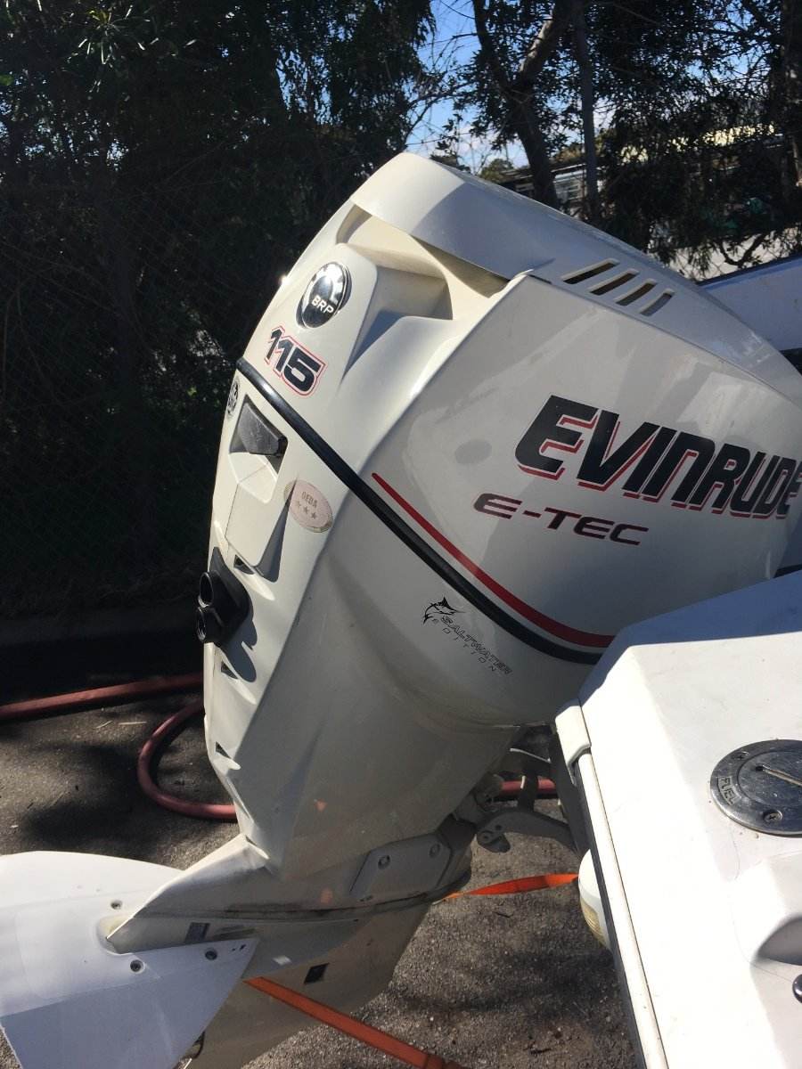 115hp Evinrude Etec 2007 for Sale | Boat Accessories | Boats