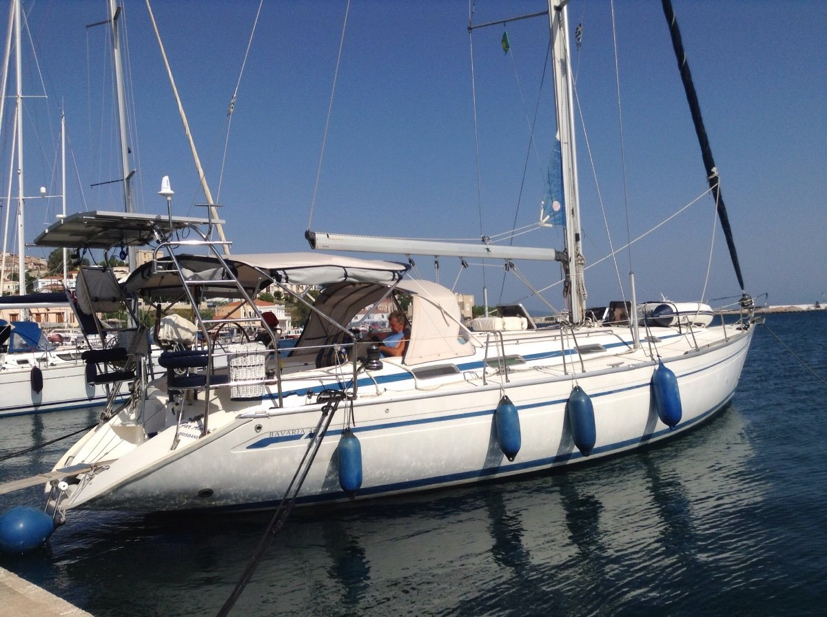 Bavaria 46 Currently cruising Greece