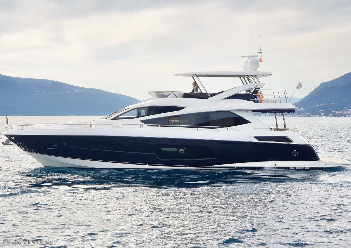 Sunseeker Yacht 75 - Dealer Approved- Excellent Condition