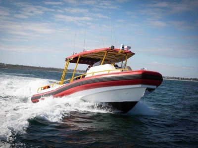 Kirby Marine Naiad NAIAD 10.5M TWIN JET INFLATABLE COMES WITH TRAILER