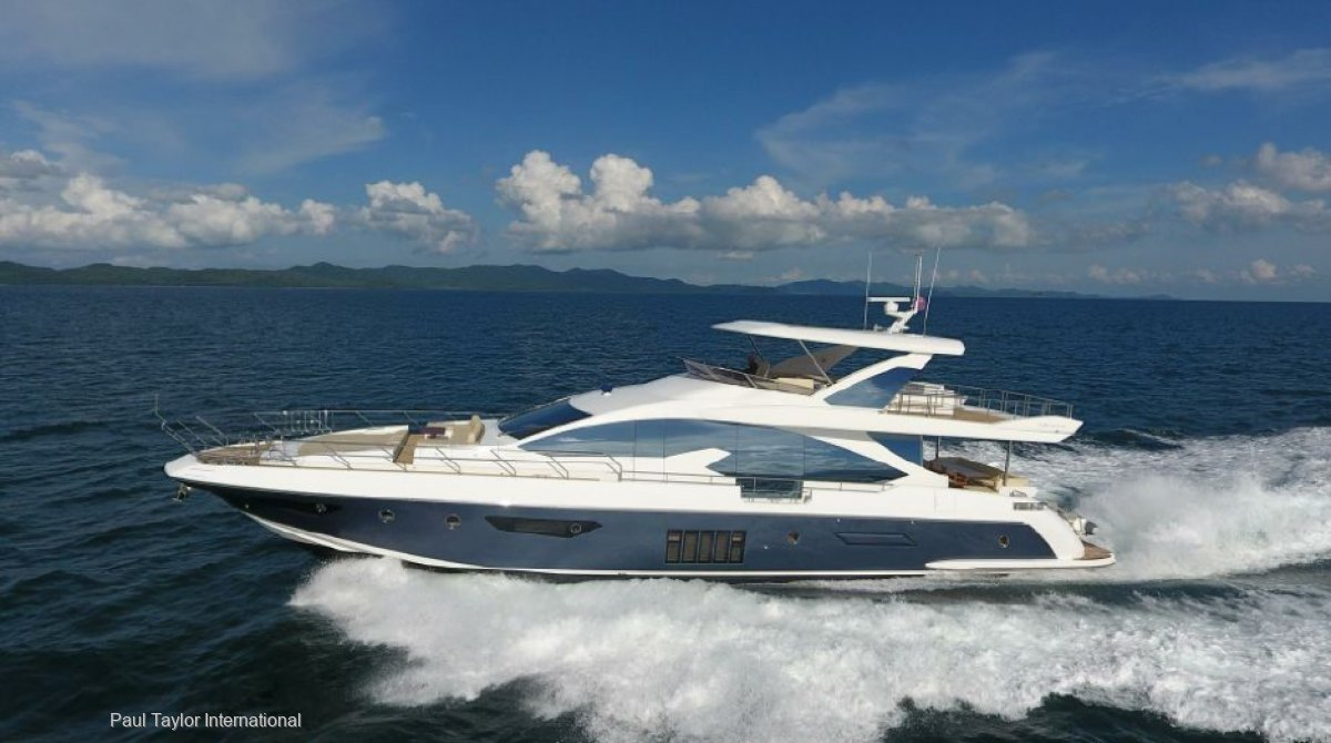 Azimut 80 Flybridge 2016- Stabilizers- MAN 1550 HP engines- Jacuzzi