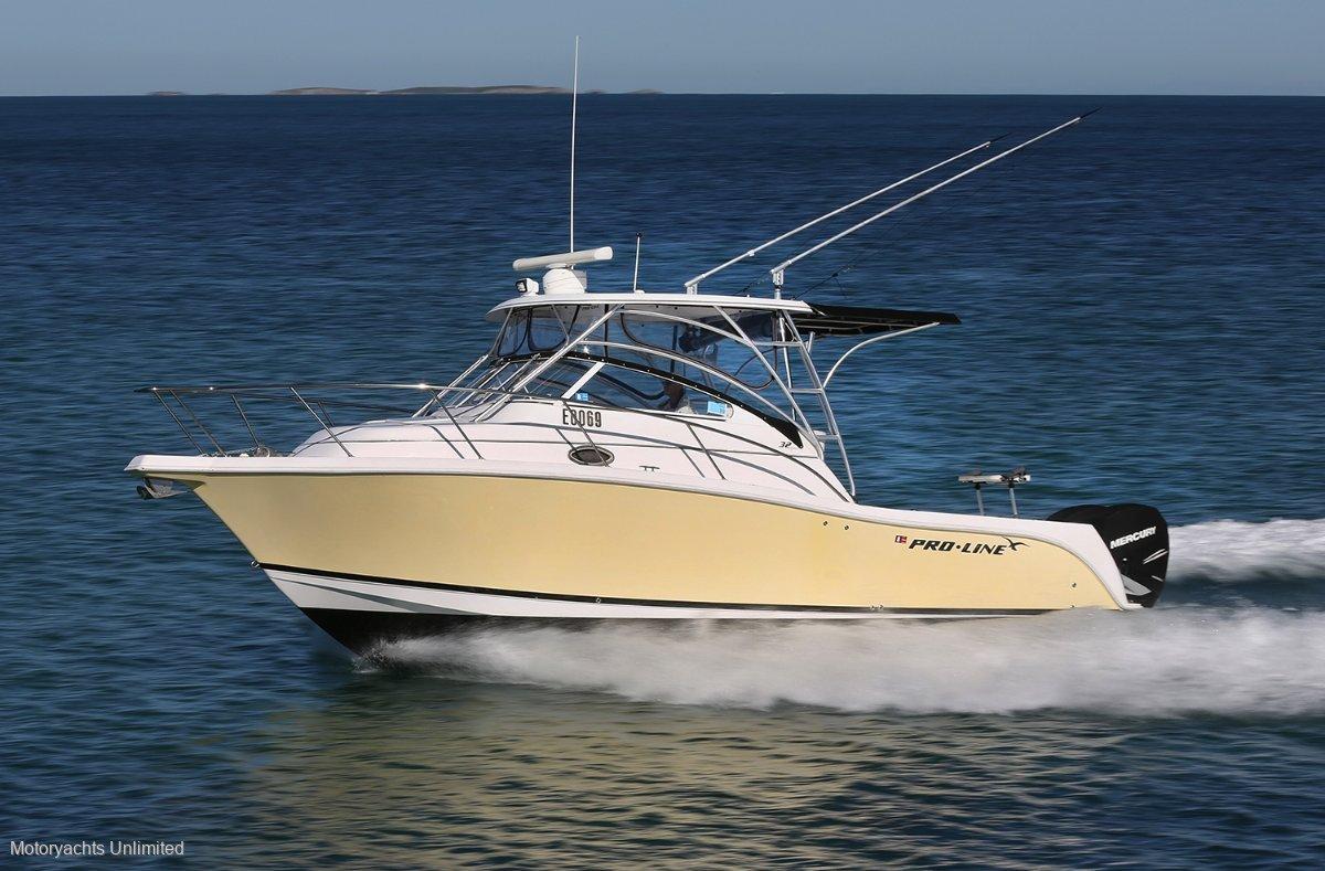 Pro-line 32 Express Cruiser Brilliant allrounder - fishing, diving, cruising:Pro-Line 32 Express