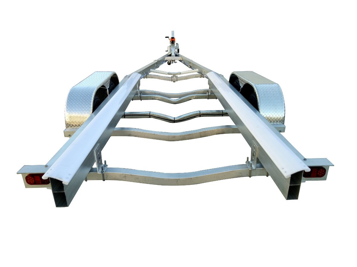 4.5TON ALLOY BOAT TRAILER - ALLOY WHEELS