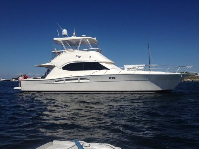 Riviera 47 Flybridge Cruiser GREAT PRICE FOR 1/4 SHARE