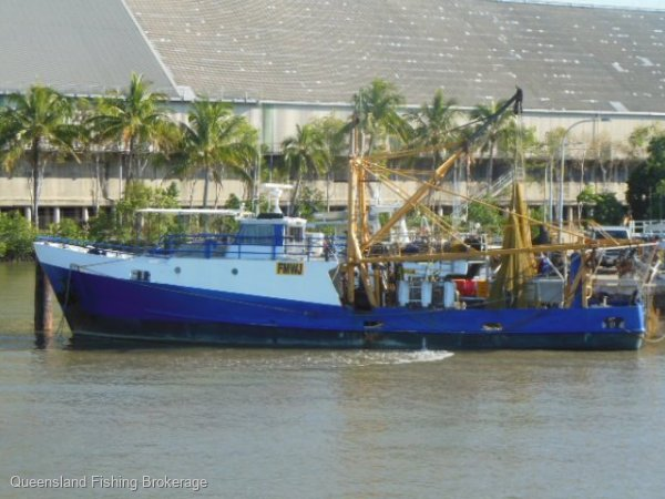 TS425 - $850,000 Trawler, Primary and 10,800 TEU