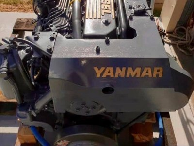 Yanmar 6LYA- STP Including ZF Gearbox with 600hrs