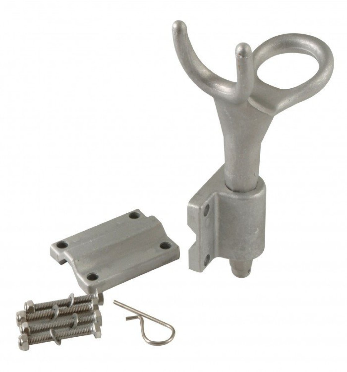 ALLOY HEAVY DUTY ROD HOLDER - WITH MOUNT - ONLY $ 19.00