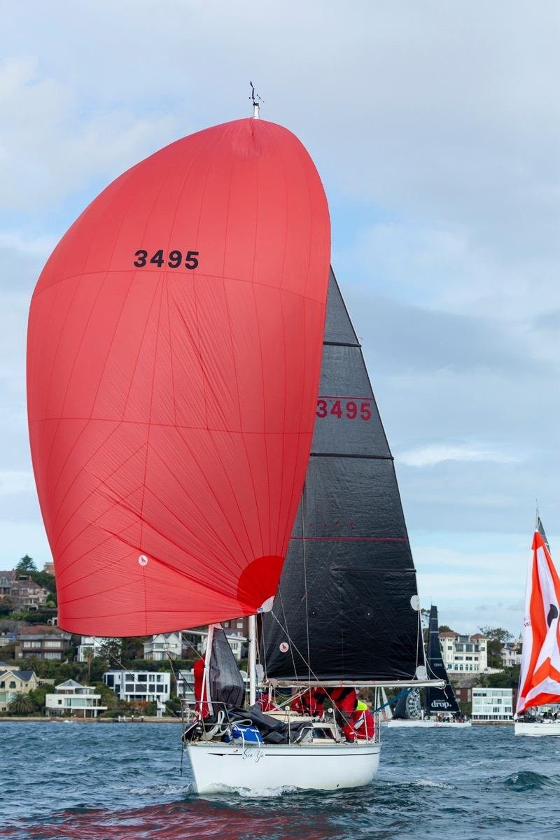 Swarbrick S80:on the mooring