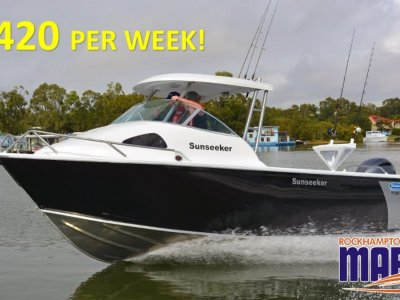 Stessco Sunseeker 580 B, M, T PACKAGE FROM ROCKHAMPTON MARINE!!!!