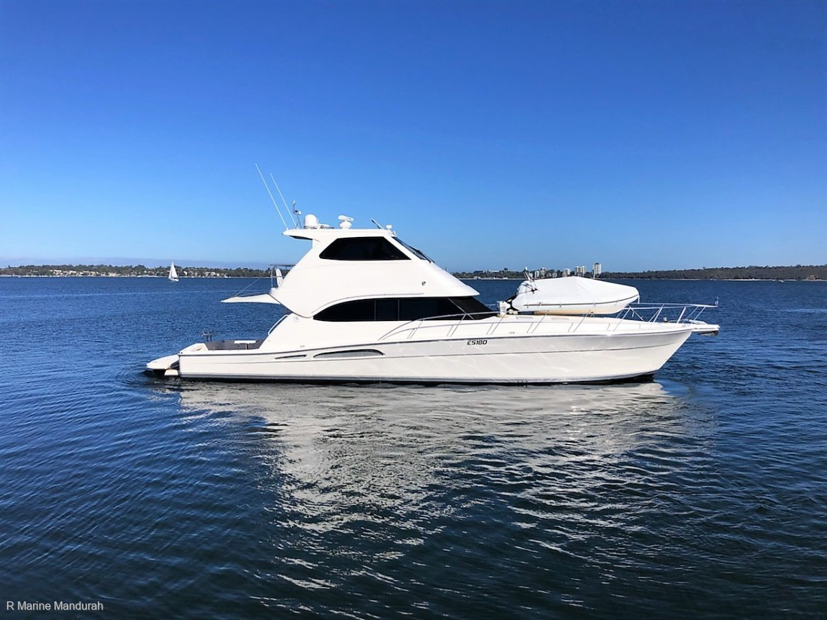 Riviera 58 Enclosed Flybridge *** STUNNING OPPORTUNITY *** $895,000 ***