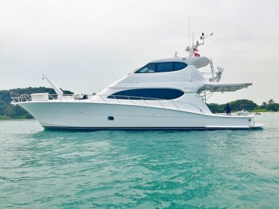 Hatteras 77 Convertible New Listing