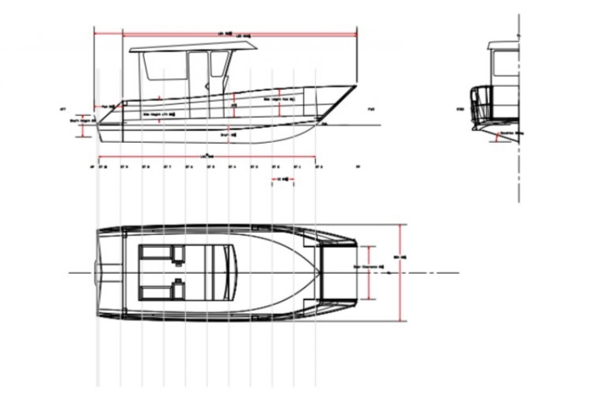 NEW BUILD - LC23 - 25ft Landing Craft