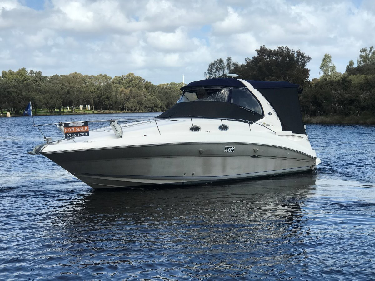 Sea Ray 355 Sundancer '''' SHAFT DRIVE '''Just Antifouled Etc Jan 2020:Searay 355 Sundancer by YACHTS WEST MARINE