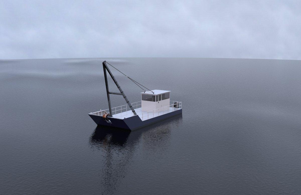 New Sabrecraft Marine A Frame Work Boat Mooring Repair