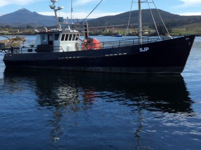 63ft Steel Commercial Fishing and Cray Boat