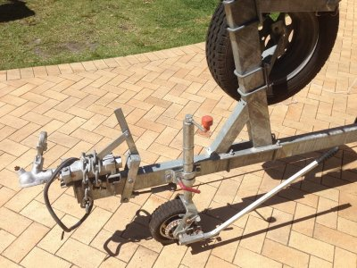 Swiftco 6m Dual Axel Boat Trailer