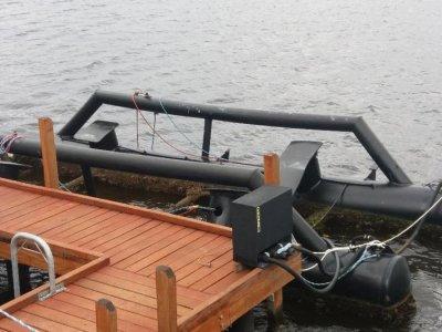 Custom Float Boat Berthing System