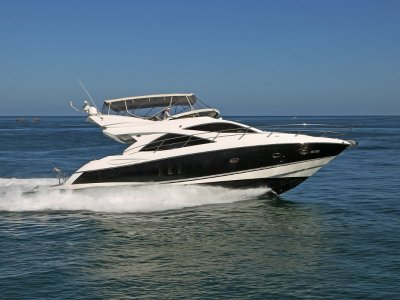 Sunseeker Manhattan 50 - Distinguished mediterranean style luxury cruiser