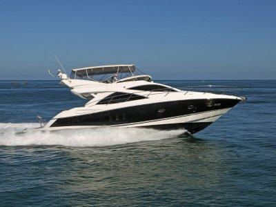 Sunseeker Manhattan 50 - Distinguished mediterranean style luxury cruiser