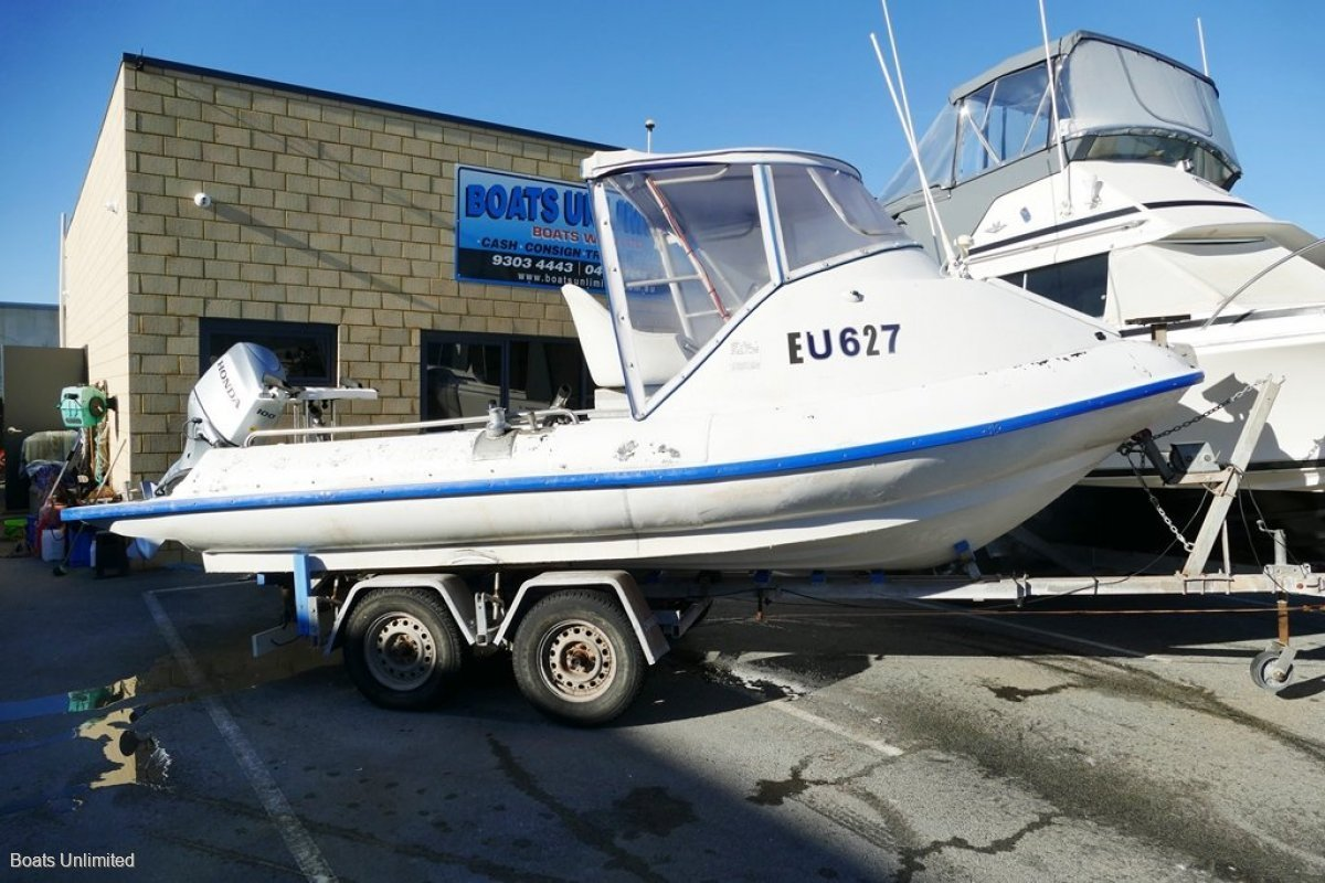 Mac Boats 570 Sport Survey SURVEY NOT CURRENT GREAT WORK BOAT NEAR NEW MOTOR