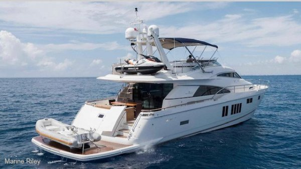 Fairline Squadron 78 Custom platform