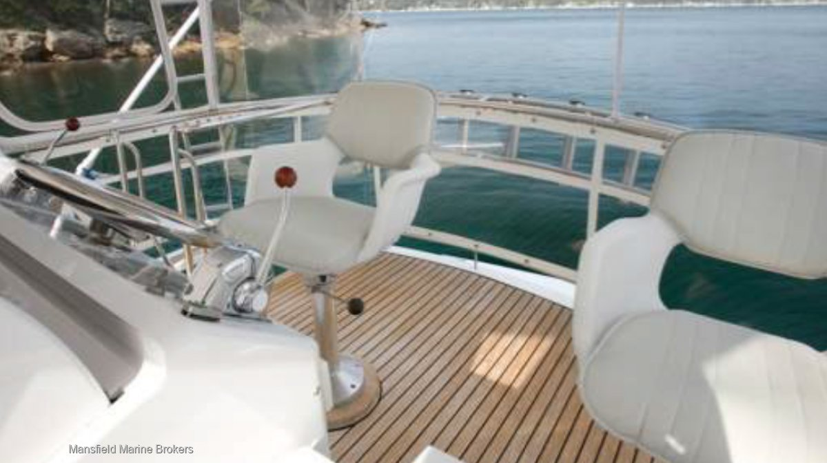 Precision 50 Flybridge Convertible