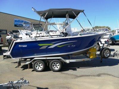 Horizon Aluminium Boats 515 Pacific PRESENT LIKE BRAND NEW BOAT FOR SALE